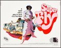 "Movie Posters:Blaxploitation, Super Fly (Warner Bros., 1972). Rolled, Fine/Very Fine. Half Sheet (22"" X 28"") Tom Jung Artwork. Blaxploitation.. ..."