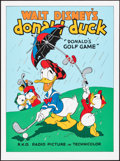 """Movie Posters:Animation, Donald's Golf Game (Circle Fine Art, R-1980s). Rolled, Near Mint. Fine Art Serigraphs (10) Identical (22.5"""" X 30.5""""). Animat... (Total: 10 Items)"""