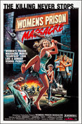 """Movie Posters:Exploitation, Women's Prison Massacre (Unistar, 1984). Rolled, Very Fine-. One Sheets (30) Identical (27"""" X 41""""). Exploitation.. ... (Total: 30 Items)"""