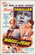 """Movie Posters:Foreign, The Wages of Fear (DCA, 1955). Folded, Very Fine-. One Sheet (27"""" X 41""""). Foreign.. ..."""