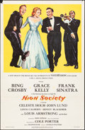 """Movie Posters:Musical, High Society (MGM, 1956). Folded, Fine/Very Fine. One Sheet (27"""" X 41""""). Musical.. ..."""