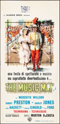 "Movie Posters:Musical, The Music Man & Other Lot (Warner Brothers, 1963). Folded, Fine/Very Fine. Italian Locandinas (2) (13"" X 27"") Style B, Angel... (Total: 2 Items)"