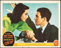 "Come Live with Me (MGM, 1941). Fine+. Lobby Card (11"" X 14""). Comedy"