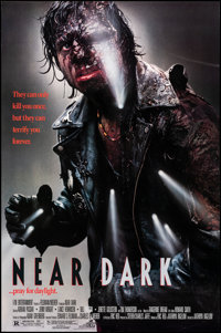 """Near Dark & Other Lot (DEG, 1987). Rolled, Overall: Very Fine. One Sheets (2) (26.25"""" X 40"""" & 27""""..."""