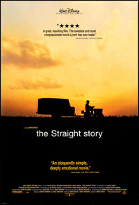 """The Straight Story (Buena Vista, 1999). Rolled, Very Fine+. One Sheet (27"""" X 40"""") DS. Drama"""