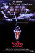 """Movie Posters:Drama, The Witches of Eastwick (Warner Brothers, 1987). Rolled, Very Fine. One Sheet (27"""" X 40.5"""") SS, Advance. Drama.. ..."""