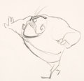 Animation Art:Concept Art, To Itch His Own Mighty Angelo the Flea Concept Drawing (Warner Brothers, 1958)....