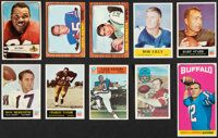 1954-70 Bowman, Kellogg's, Philadelphia & Topps Football Collection (136)