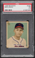 Baseball Cards:Singles (1940-1949), 1949 Bowman Bob Lemon #238 PSA Fair 1.5....