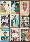 Baseball Cards:Lots, 1961-92 Bowman/Topps Baseball Stars & HoFers Rookie Collection (9)....