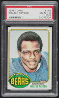 Football Cards:Singles (1970-Now), 1976 Topps Walter Payton #148 PSA NM-MT 8 (OC)....