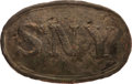Militaria:Uniforms, State of New York Oval Belt Plate. 89 mm x 58 ...