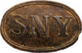 Militaria:Uniforms, State of New York Oval Belt Plate.. ...
