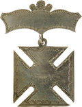 Militaria:Insignia, 5th Army Corps Silver I.D. Badge.. ...