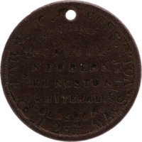 23rd Massachusetts Volunteer Infantry: John C. Foss Dog Tag