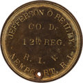 Militaria:Insignia, 12th Rhode Island Volunteer Infantry: Jefferson O'Reilly Dog Tag.. ...