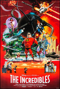 "The Incredibles (Buena Vista, 2004). Rolled, Very Fine/Near Mint. One Sheets (2) (27"" X 40"") SS & DS, Adva..."