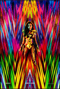 """Wonder Woman 1984 (Warner Brothers, 2020). Rolled, Very Fine/Near Mint. One Sheet (27"""" X 40"""") DS, Advance. Act..."""