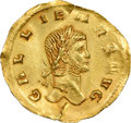 Ancients:Roman Imperial, Gallienus (AD 253-268). AV light aureus (20mm, 1.88 gm, 6h...