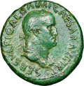 Ancients:Roman Imperial, Galba (AD 68-69). AE sestertius (34mm, 25.71 gm, 6h). NGC ...