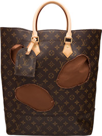 """Louis Vuitton 'Bag with Holes' Tote Condition: 1 14"""" Width x 15"""" Height x 5"""" Depth"""