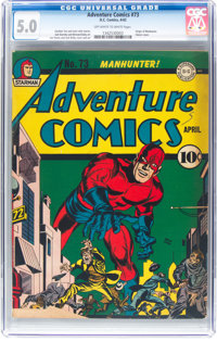 Adventure Comics #73 (DC, 1942) CGC VG/FN 5.0 Off-white to white pages