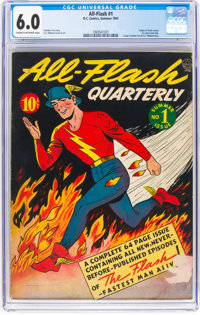 All-Flash #1 (DC, 1941) CGC FN 6.0 Cream to off-white pages