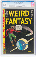 Golden Age (1938-1955):Science Fiction, Weird Fantasy #16 (#4) (EC, 1950) CGC NM 9.4 Off-white to white pages....