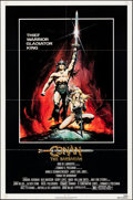 "Movie Posters:Action, Conan the Barbarian (Universal, 1982). Folded, Very Fine-. One Sheet (27"" X 41""). Renato Casaro Artwork. Action.. ..."