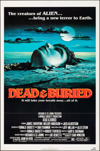 """Dead & Buried & Other Lot (Avco Embassy, 1981). Folded, Fine/Very Fine. One Sheets (3) (27"""" X 41""""). Da..."""