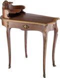 Furniture, A French Louis XV-Style Kingwood and Bronze Mounted Cartonnier, early 20th century. 30-3/4 x 36 x 20-3/4 inches (78.1 x 91.4...