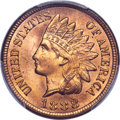 Indian Cents, 1888 1C MS66 Red PCGS....