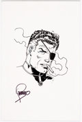 Original Comic Art:Sketches, Jim Steranko - Nick Fury Sketch Original Art (c. 2000)....