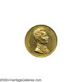 Political:Tokens & Medals, Large 1860 Lincoln Campaign Medal...