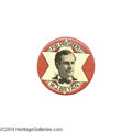 Political:Pinback Buttons (1896-present), Beautiful And Striking Large 1896 Bryan Pin...