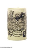 Political:3D & Other Display (pre-1896), Desirable Liverpool Creamware Tankard With World Map...