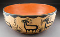 American Indian Art:Pottery, A Santo Domingo Dough Bowl...