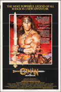 "Movie Posters:Action, Conan the Destroyer (Universal, 1984). Folded, Fine+. One Sheet (27"" X 41""). Action.. ..."