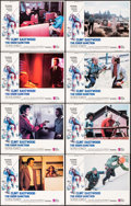"""Movie Posters:Action, The Eiger Sanction (Universal, 1975). Fine/Very Fine. Lobby Card Set of 8 (11"""" X 14"""") John Alvin Border Artwork. Action.. ... (Total: 8 Items)"""