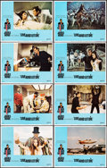 """Movie Posters:James Bond, Live and Let Die (United Artists, 1973). Very Fine+. Lobby Card Set of 8 (11"""" X 14""""). Robert McGinnis Border Artwork. James ... (Total: 8 Items)"""