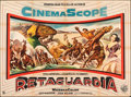 "Movie Posters:Western, The Command & Other Lot (Warner Bros., 1954). Folded, Fine/Very Fine. Argentinean Two Sheet (43"" X 58"") & Argentinean One Sh... (Total: 2 Items)"