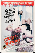"""Movie Posters:Horror, Splatter University & Other Lot (Troma, 1984). Folded, Overall: Fine+. One Sheets (2) (27"""" X 41""""). Horror.. ... (Total: 2 Items)"""