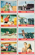"Movie Posters:James Bond, Thunderball (United Artists, 1965). Very Fine-. Lobby Card Set of 8 (11"" X 14""). James Bond.. ... (Total: 8 Items)"