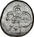 Ancients:Greek, Ancients: PAMPHYLIA. Aspendus. Ca. mid-5th century BC. AR stater (19mm, 5h). NGC VF....