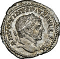Ancients:Roman Imperial, Caracalla (AD 198-217). AR Denarius...