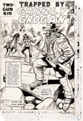 "Original Comic Art:Complete Story, Dick Ayers Two-Gun Kid #64 Complete 13-Page Story ""Trapped by Grizzly Grogan"" Original Art (Marvel, 1963).... (Total: 13 Original Art)"