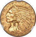 Indian Half Eagles, 1914-S $5 MS63 NGC....