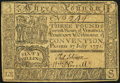 Colonial Notes:Virginia, Virginia July 17, 1775 £3 Very Fine.. ...