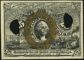 Fractional Currency:Second Issue, 5¢ Experimental Second Issue Choice New.. ...