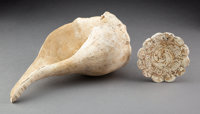 Two Mississippian Shell Items... (Total: 2 )